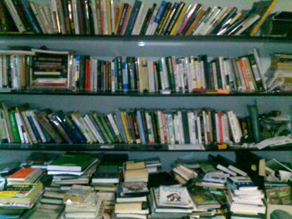 A partial glimpse of my library